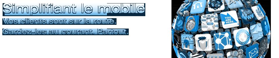 Marketing mobile conception web