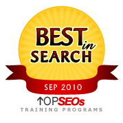 Best In Search September 2010