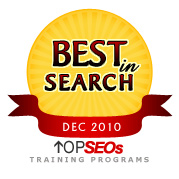 Best in Search December 2010